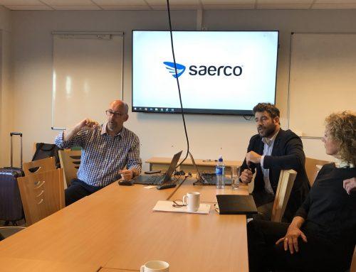 Møter og samtaler med Saerco – ny leverandør av LTT på Vigra og Kjevik