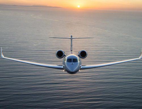 Hastighetsbegrensning Gulfstream G650